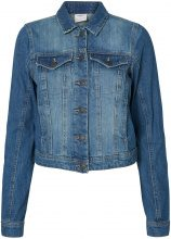 VERO MODA Long Sleeved Denim Jacket Women Blue
