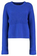 Lauren Turn Up Cuff Rib Edge Jumper