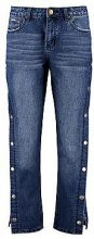 Yazmin Popper Side Wide Leg Jeans