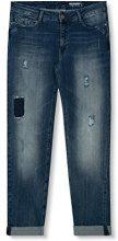 edc by ESPRIT 027cc1b031, Jeans Donna, Blu (Blue Dark Wash), W27/L32 (Taglia Produttore: 27/32)