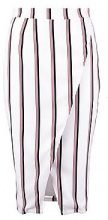 Hallie Premium Stripe Wrap Skirt