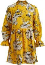 VILA Flower Printet Dress Women Yellow