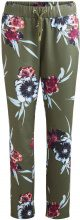VILA Printed Trousers Women Green