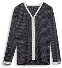 ESPRIT Collection 127eo1f002, Camicia Donna, Nero (Black 001), 40