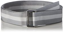 Bench D-Ring Webbing Belt, Cintura Uomo, Grau (Dark Grey GY048), XXXL