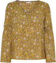 ONLY Printed Long Sleeved Top Women Yellow