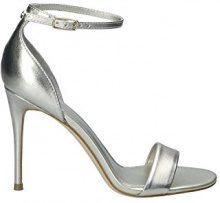 Guess Footwear Dress Sandal, Scarpe con Cinturino Alla Caviglia Donna, Oro, 36 EU