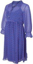MAMA.LICIOUS Dotted Maternity Dress Women Blue