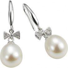 Adriana dreambase-orecchini 2015 925 argento rodiato zirconi Amore perla-perle coltivate bianco - A56
