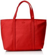 LacosteWomen's Classic - Borsa a tracolla Donna , rosso (Rouge (High Risk Red)), One Size