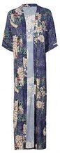 Jessie Oriental Floral Print Maxi Kimono
