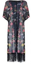 Harlow Oriental Mesh Kimono