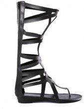 Sandali stile romano alti