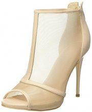 Guess Footwear Dress Shootie, Scarpe Col Tacco Punta Aperta Donna, Avorio (Ivory), 35 EU