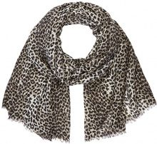 PIECES Pcelfrida Long Scarf Clw, Sciarpa Donna, Multicolore (Black), Taglia Unica