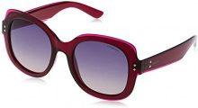 Polaroid PLD 4036/S PV JB6, Occhiali da Sole Donna, Rosso (Burgundy/Violet Sf Pink), 52
