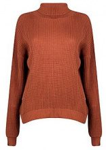 Isabel pullover dolcevita in stile pescatore