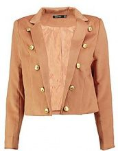 Gemma Military Crop Jacket