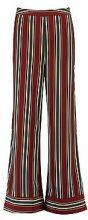 Hannah Wide Leg Stripe Trouser