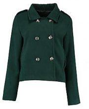 Robyn Short Military Wool Look Coat