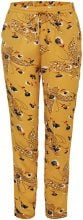 ONLY Printed Trousers Women Yellow