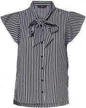 ONLY Detaljeret Short Sleeved Shirt Women Black