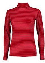 Harriet High Neck Stripe Long Sleeve Top