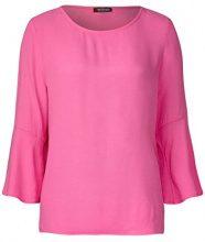 Street One 311896 Finja, Maglietta a Maniche Lunghe Donna, Rosa (Flamingo Pink 11272), 44