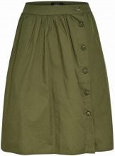 ONLY Long Skirt Women Green