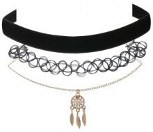 Set di 3 choker in design trendy