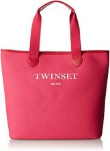 Twin Set As8pna, Borsa a Spalla Donna, Rosa (St.Paris Bambola), 15x36x34 cm (W x H x L)