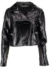 Iris Vinyl Biker Jacket