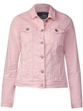 Cecil 210681 Hedda, Giacca in Jeans Donna, Rosa (Magic Pink 11277), 38