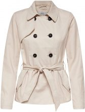 ONLY Short Trenchcoat Women White