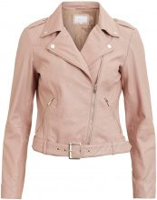 VILA Real Leather Jacket Women Purple