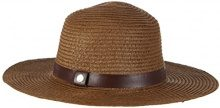 ESPRIT 046EA1P002-Straw Hat, Cappello Donna, Marrone (Dark Brown 200), Small (Taglia Produttore: Small)