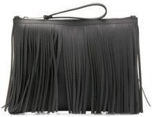 Gum - fringed clutch bag - women - PVC - OS - BLACK
