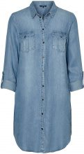 VERO MODA Shirt Dress Women Blue