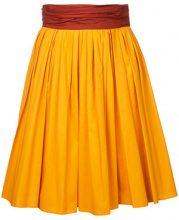 - Paule Ka - Gonna corta - women - cotone/fibra sintetica - 42 - di colore arancione
