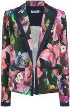 Isolda - floral print blazer - women - Silk - 42 - BLUE
