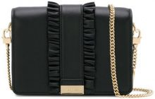 Michael Michael Kors - Jade clutch bag - women - Leather - One Size - BLACK