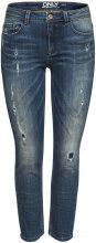 ONLY Demi Reg Ankle Slim Fit Jeans Women Blue