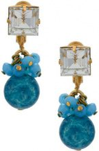 Serpui - embellished earrings - women - metal - OS - METALLIC