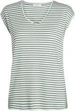 PIECES Striped T-shirt Women White