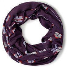 Cecil 570479, Sciarpa Donna, Violett (Dark Purple 31085), Taglia unica