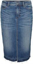 VERO MODA Feminine Denim Skirt Women Blue