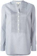 Michael Michael Kors - mandarin neck tunic - women - Cotton/Polyester - XS - GREY
