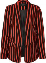 VERO MODA Striped Blazer Women Black