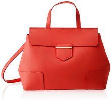 Chicca Borse 8697, Borsa a Spalla Donna, Rosso (Red), 38x29x18 cm (W x H x L)