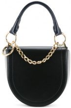 Sacai - half moon shoulder bag - women - Calf Hair - One Size - BLACK